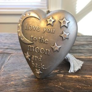 🍁Art Hearts Love you to the moon and back decor
